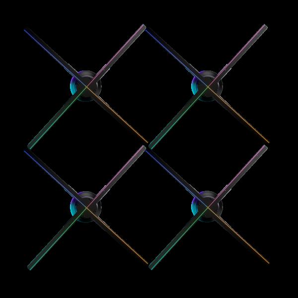 Hypervsn Wall – 2×2 Wall